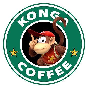 Konga Diddy Coffee by TeeGrayWolf