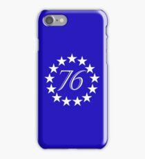 76 Thirteen Stars iPhone Case/Skin