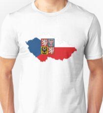czech republic flag coat of arms T-Shirt