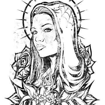 Virgin Mary by JoeyKnuckles