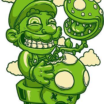 Mario Shrooms by JoeyKnuckles