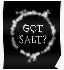 Supernatural Got Salt Gifts Poster