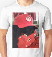 Black Cat, Red Hat Unisex T-Shirt