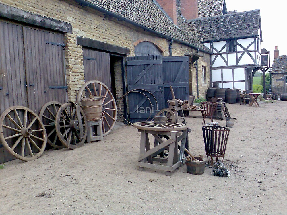 Cranford at Lacock by Iani
