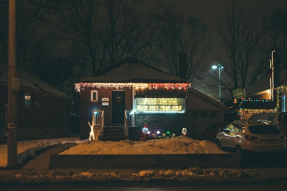 Christmas Lights 1 by Kyra Savolainen