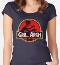 Grrassic Pargh Women's Fitted Scoop T-Shirt