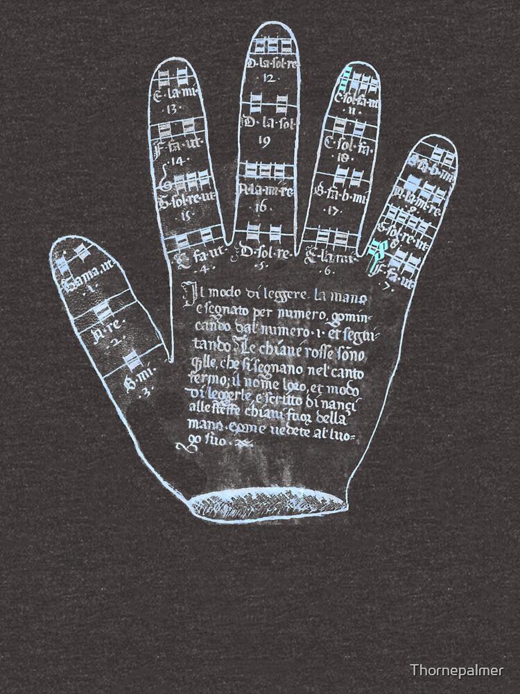 Guidonian Hand by Thornepalmer