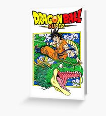 Dragon Ball Z Greeting Card
