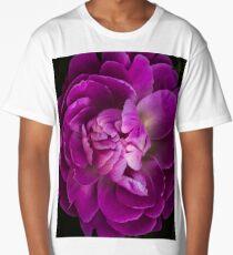 Peony macro Long T-Shirt