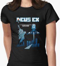 Deus Ex Women's Fitted T-Shirt