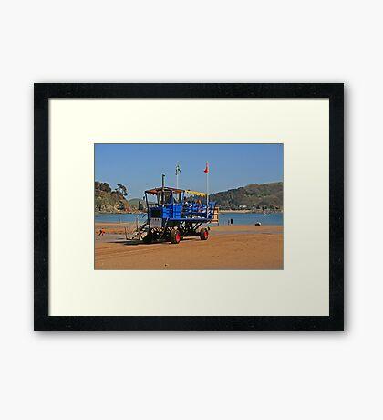 Sea Tractor Framed Print