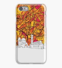 Pristina Panorama Sketch iPhone Case/Skin