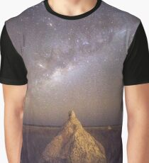 dampier creek termite mount milky way  Graphic T-Shirt