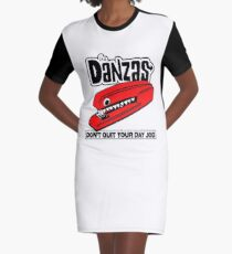 Stapler Graphic T-Shirt Dress