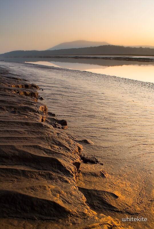 Solway Firth Sunset by whitekite