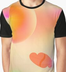 Beeing on rose-coloured clouds Graphic T-Shirt