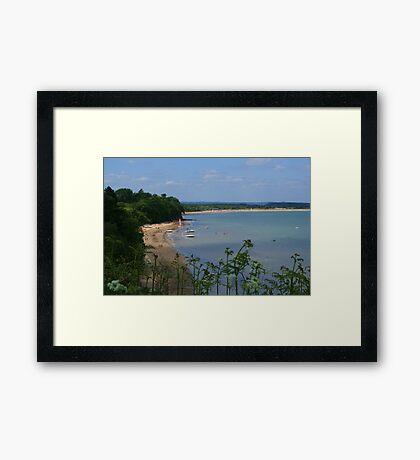 South Beach, Studland Framed Print
