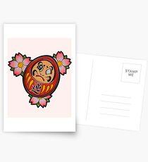 Daruma Postcards