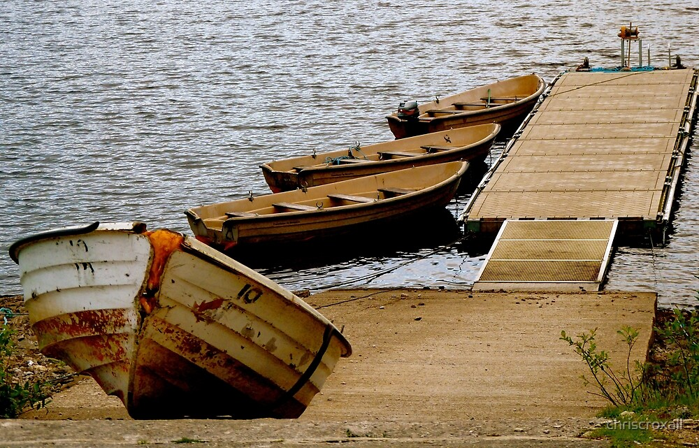 Boats On The Reservoir by chriscroxall