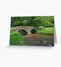 Pack Horse Bridge, Wycoller Greeting Card