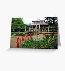 The Italian Villa, Compton Acres Greeting Card