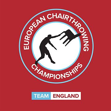 Chairthrowing England Red by Casuals