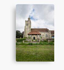 Harrietsham Church, Kent Canvas Print