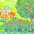 Romantic Garden by CarolineLembke