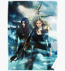 Buffy & Illyria Poster