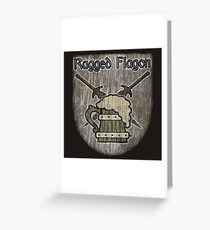 The Ragged Flagon Greeting Card