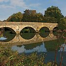 Stour Valley Way: The Old Bridge, Iford by RedHillDigital