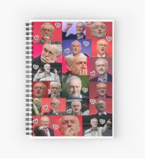 Jeremy Corbyn Spiral Notebook