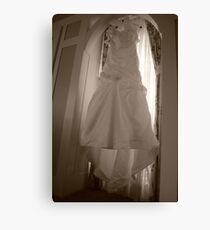 Wedding Dress Canvas Print