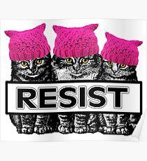 Pussies Resist Poster