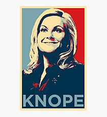 Vote For Knope Photographic Print