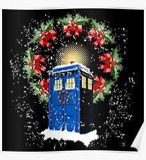 A WARM & COMFORTABLE TARDIS IN THE SNOWSTORM  Poster
