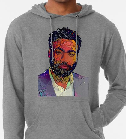 Abstract Gambino Lightweight Hoodie