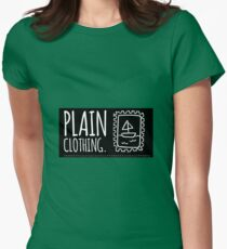 plain clothing (designs) Womens Fitted T-Shirt