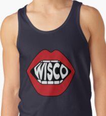 Wisco Lippen Tanktop für Männer