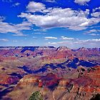 Cloud Shadows In the Canyon by Nancy Richard