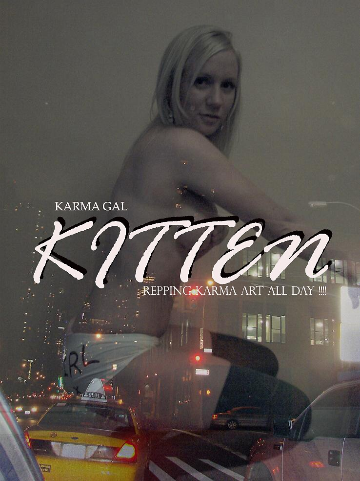 kitten in the city by KVP karma view photography