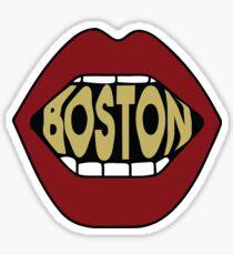 Boston Lips Sticker