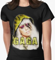 Gaga Art Design Womens Fitted T-Shirt
