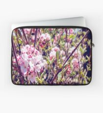 Counting Cheerful Cherry Blossoms Laptop Sleeve