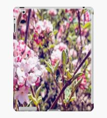 Counting Cheerful Cherry Blossoms iPad Case/Skin