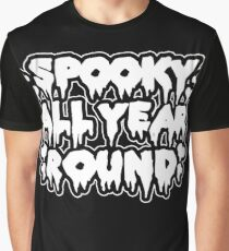 Spooky All Year Round - Goth Graphic T-Shirt