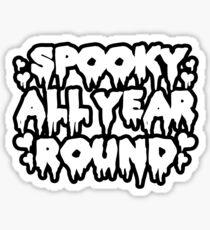 Spooky All Year Round - Goth Sticker