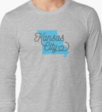 Kansas City MO Tshirt  Long Sleeve T-Shirt