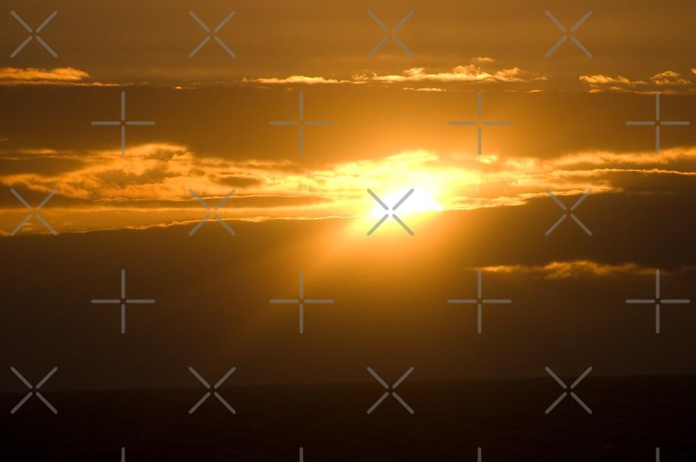 Sorrento Sunset  by Lanii  Douglas