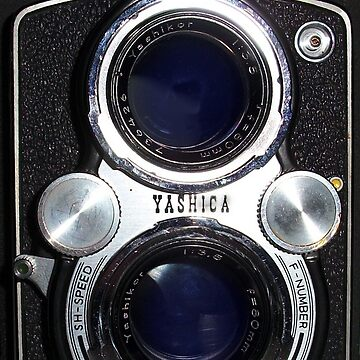 Vintage Yashica 635 Camera by netdweller